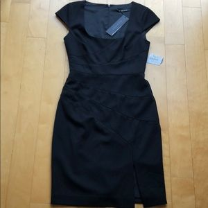 Black halo size 4 black dress